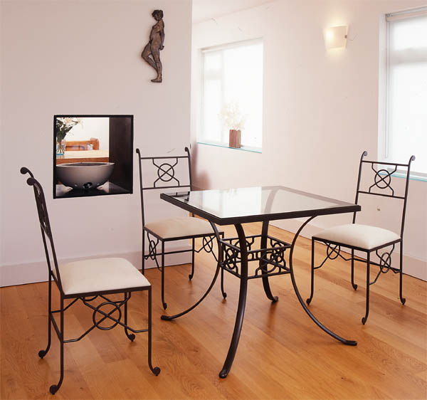 Pmf Designs Sussex Uk Bespoke Metal Dining Furniture